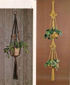 crochet plant hanger pattern images maison pinterest macram plantes suspendues et suspendu. Black Bedroom Furniture Sets. Home Design Ideas