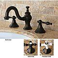 Lava Widespread Oil Rubbed Bronze Bathroom Faucet | Overstock.com