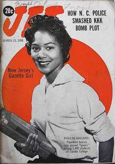 Phillda Ragland, New Jersey's Gazette Girl - Jet Magazine,… | Flickr