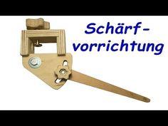(12) selbstgebaute Schleifvorrichtung für Drechselwerkzeug (kostenloser Plan) - YouTube