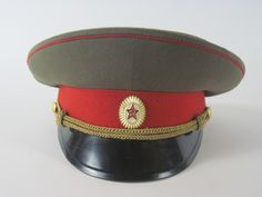 Hat - Soviet Military Cap - Cabootle