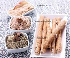 Pasta z tofu i pieczarek Tofu, Dip, Cereal, Breakfast, Morning Coffee, Salsa, Breakfast Cereal, Corn Flakes