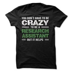 Research Assistant T-Shirts, Hoodies. CHECK PRICE ==►…