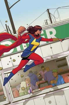 MS. MARVEL #4 (MAY 2014)    G. WILLOW WILSON (W) • ADRIAN ALPHONA (A)     Cover by JAMIE MCKELVIE