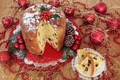 Πανετόνε (Panettone)! | Christmas Projects, Christmas Time, Xmas, Christmas Ideas, Sweets Recipes, Cake Recipes, Camembert Cheese, Banana Bread, Sweet Tooth
