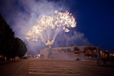 Mystery Circle: Explosion Event for The Museum of Contemporary Art, Los Angeles | Cai Guo-Qiang