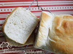 Brisando na Cozinha: Pão francês de forma
