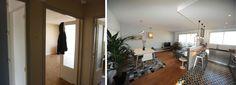 Rénovation du salon d'un appartement en Midi Pyrénées