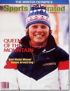 Sports Illustrated Magazine (Debbie Armstrong ,Queen Of The Mountain , Giant Slalom Gold Medal Winner, Sarajevo, Yugoslavia, February 20 , 1984)