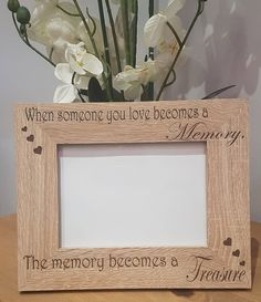 Excited to share the latest addition to my #etsy shop: Laser engraved wood veneer frame, Mothers day, birthday, weddings. http://etsy.me/2GJPIhk #housewares #homedecor #wedding #christmas #bedroom #photoframe #birthday #newlyweds #grandparents