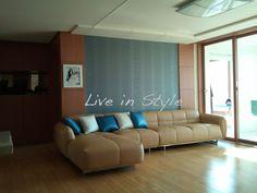 L-Shape Leather Sofa - Max2619