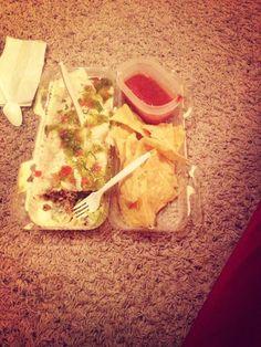 Steak Cheesy King Burrito & Chips& Salsa