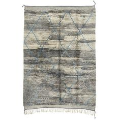 """Casablanca Moroccan Wool Rug 9'6""""x13'9"""" (31.936.695 COP) ❤ liked on Polyvore"""