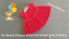 Moda Crochet, Crochet Baby, Childrens Coats, Twine Crafts, Baby Dress, Crochet Patterns, Beanie, Youtube, Fashion