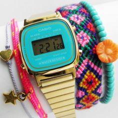 Retro Casio watch  sooo sweet