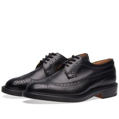 END. x Tricker's Richard Brogue (Black)
