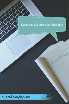 Essential iOS apps for blogging on your iPhone - Four Walls, Rainy Days