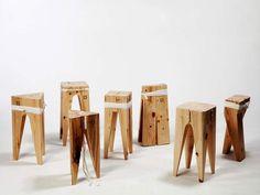 algodón, asiento, Blitzkrieg, cuerda, madera, stool, taburete
