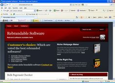 Wordpress blog design for software company.