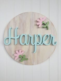 A personal favorite from my Etsy shop https://www.etsy.com/listing/543134651/wood-name-sign-baby-shower-gift-newborn Wooden Names, Wooden Name Signs, Baby Name Signs, Wood Signs, Nursery Name, Nursery Signs, Nursery Decor, Newborn Nursery, Baby Girl Newborn