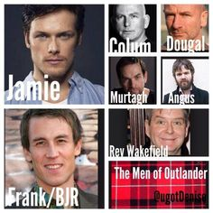 The Men of Outlander