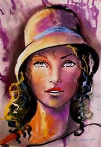 painting expressionist portraits - Yahoo Image Search Results