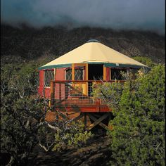 """My wife, daughter and I lived in a yurt while building our off-grid house in Sandpoint, ID. We found it very difficult to leave it's """"roundness"""" when we moved into the main house. We still use it as our retreat."""