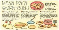 Mexican Food Recipes, Dessert Recipes, Desserts, Chilean Recipes, Vegan Menu, Recipe Scrapbook, Food Advertising, Sweet And Salty, Food Illustrations