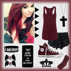 """I Know Just What It Feels Like To Have A Voice In The Back Of My Head. It's Like A Face That I Hold Inside , A Face That Awakes when I Close My Eyes."" by carissa-chaos on Polyvore"