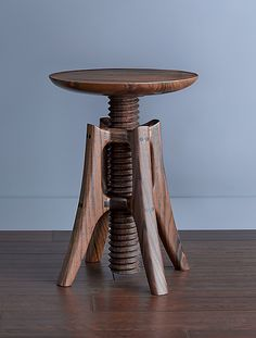 """Piano Stool"" Wood Stool by James Pearce on Artful Home."
