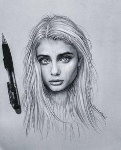 """Polubienia: 1,792, komentarze: 17 – JAWAD ALGHEZI (@jawadalghezi) na Instagramie: """"T A Y O R H I L L @taylor_hill Pencil drawing _________________________________________ . . . .…"""""""