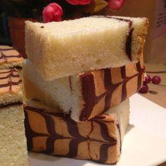 Baked Ji Dan Gao (Sponge Cake) - ( 烤鸡蛋糕). This baked version of sponge cake is similar  to the steamed version (Ji Dan Gao). It is soft and fluffy.
