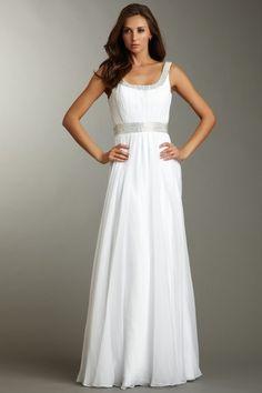 La Femme Rhinestone Encrusted Gown