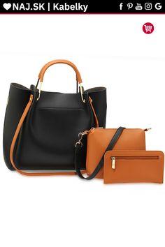 3 Pieces Handbag Set For Women Fashion Ladies Shoulder Bag Faux Leather Designer Anna Grace, Shopper Bag, Lady, Bordeaux, 3 Piece, Michael Kors, Shoulder, Womens Fashion, Leather