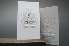 Business Cards | Letterpress Printing, Print Design | New York