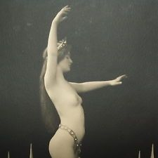 PREUSSENS NACKTE VENUS Olga Desmond - Schwertertanz (um 1910) - Ausdruckstanz