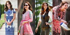 Guess Which Kate Middleton India-Bhutan Tour Outfit Was the Most Liked