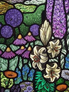 Art / Photography & Garden of the Far East Stained Glass Tattoo, Stained Glass Paint, Stained Glass Designs, Stained Glass Panels, Stained Glass Projects, Stained Glass Patterns, Leaded Glass, Mosaic Glass, Glass Art