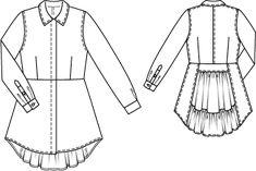 BS 4/2012 Longblouse / Dress