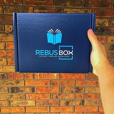 When you receive your RebusBox, tag us in your picture for a chance to be featured on our page! The more creative, the better.