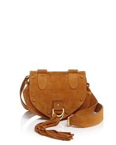 ef836c1a489e See by Chloe Small Collins Suede Saddle Bag See By Chloe