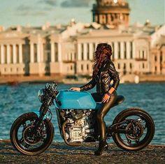 San Petersburg CX | Inazuma café racer