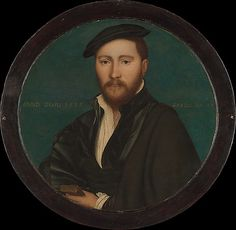 Workshop of Hans Holbein the Younger (German, 1497/98–1543). Portrait of a Man (Sir Ralph Sadler?), 1535. The Metropolitan Museum of Art, New York. The Jules Bache Collection, 1949 (49.7.28) #mustache #movember
