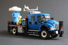 Doppler on Wheels Lego City Fire Truck, Lego Truck, Fire Trucks, Lego Furniture, Lego Pictures, Truck Coloring Pages, All Lego, Lego Construction, Cool Lego Creations