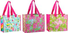 Lilly Print Pulitzer Summer 2012 | Lilly Pulitzer Market Bag Docksider...