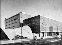Goverment Office Building by Enrique Del Moral Mexico City 1950s