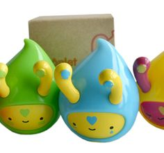 Playlounge - Products - Vinyl Toys - Droplet