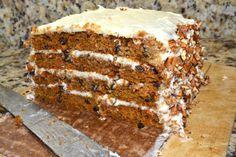 Carrot Cake (substitute the sugar for honey or coconutblossomsugar)