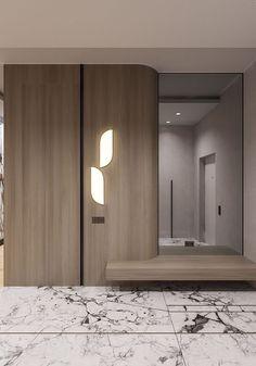35 Bedroom Wardrobe Design Ideas Trending Right Now – Home Trends 2020 Hall Wardrobe, Wardrobe Design Bedroom, Bedroom Cupboard Designs, Bedroom Cupboards, Home Interior, Modern Interior, Interior Architecture, Lobby Interior, Dressing Design