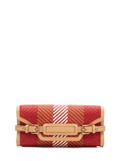 Croscombe Woven Leather Clutch by Belstaff at Gilt